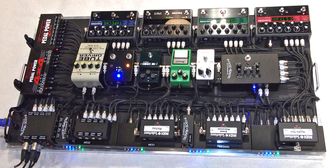Nice Rack Canada | Series & Parallel Effects MIDI Pedalboard